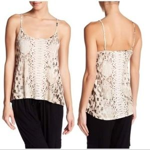 Haute Hippie Snake Skin Animal Print Top